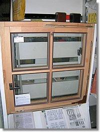 Dřevěná okna 90x90